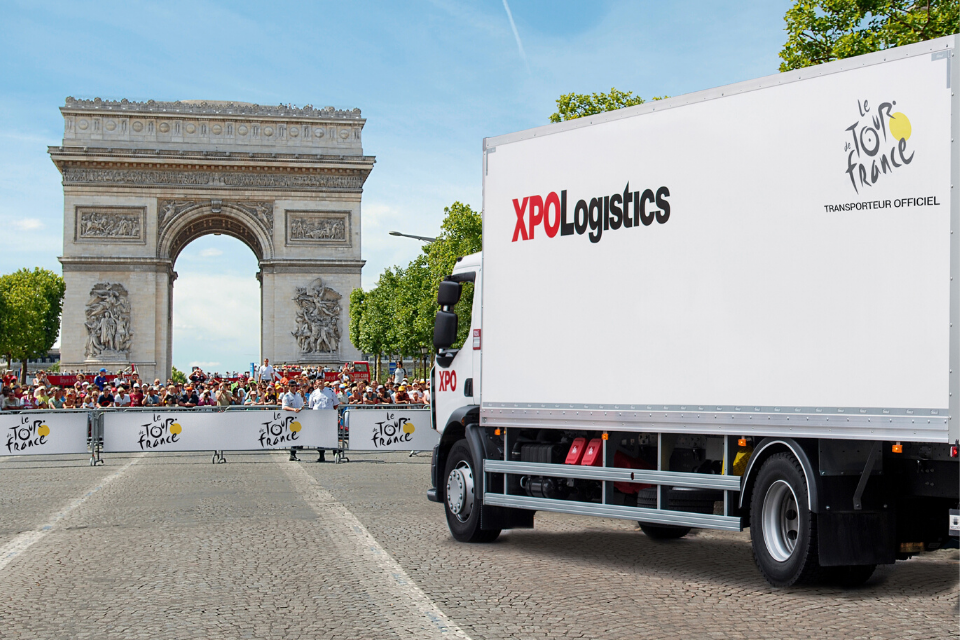 XPO on Tour de France