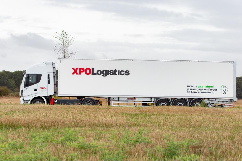 XPO NGV truck