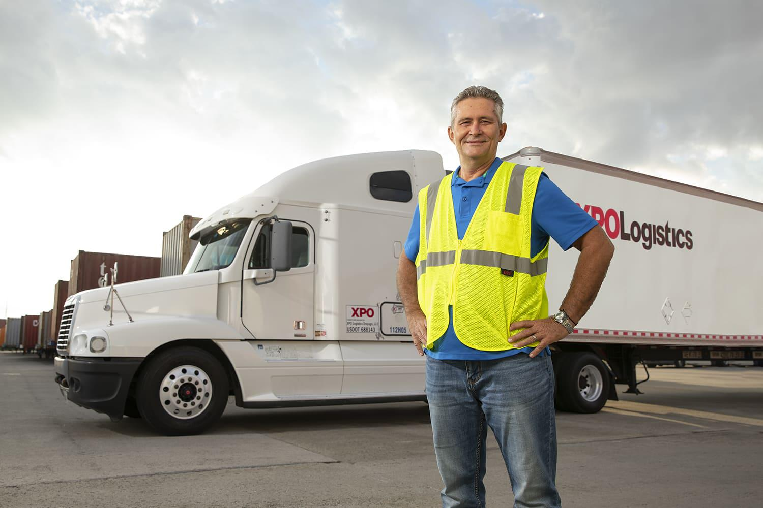 XPO Owner Operator driver