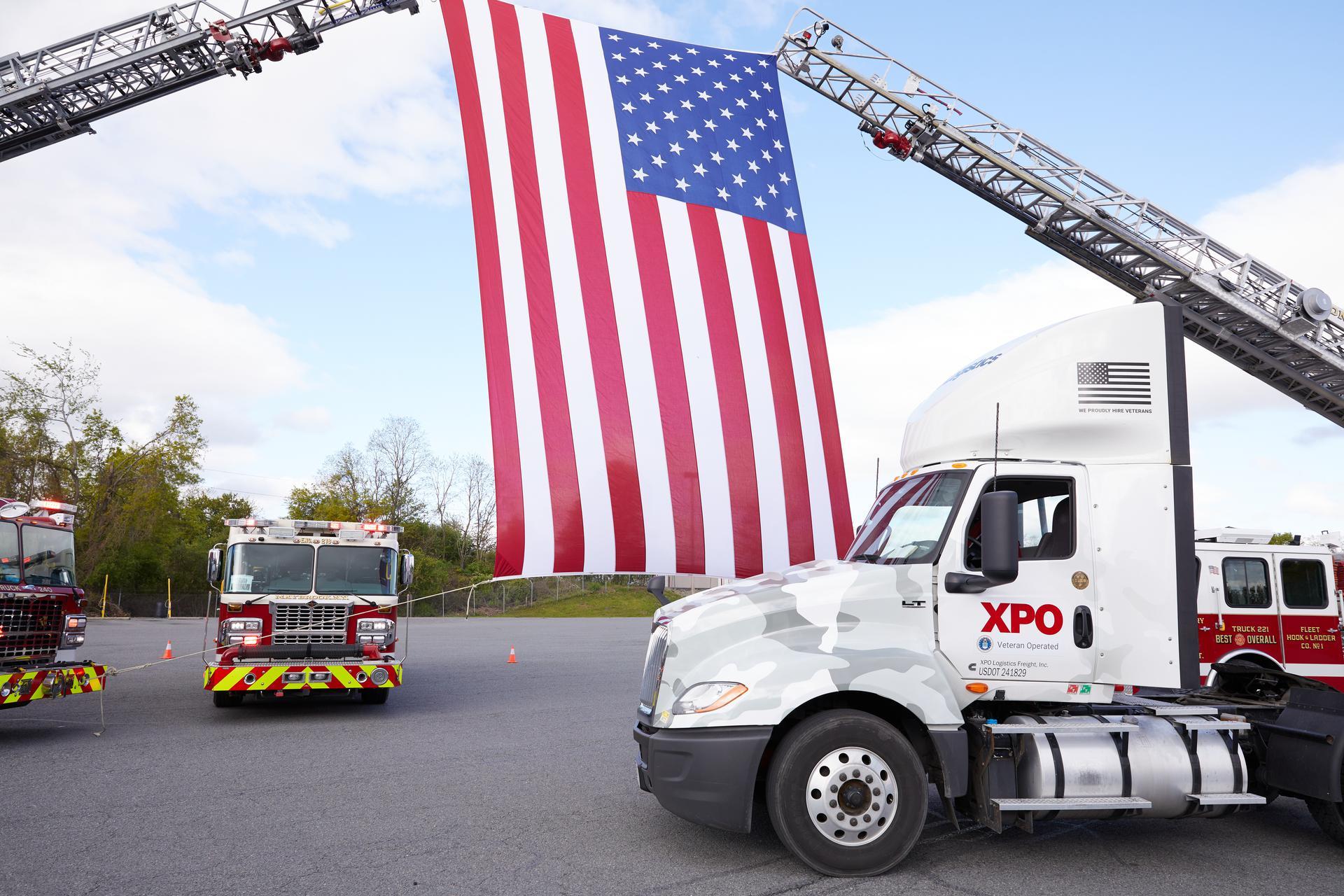 Military Appreciation Trucks
