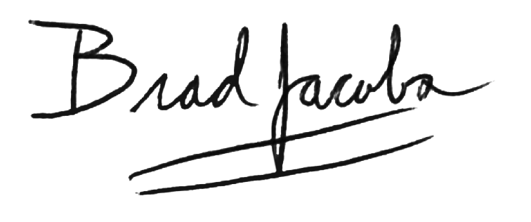 Brad Jacobs Signature