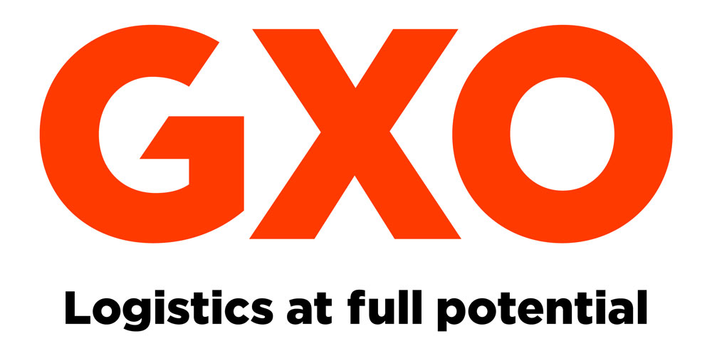 GXO Logo and tagline