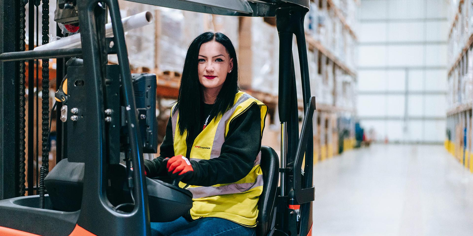 XPO forklift operator