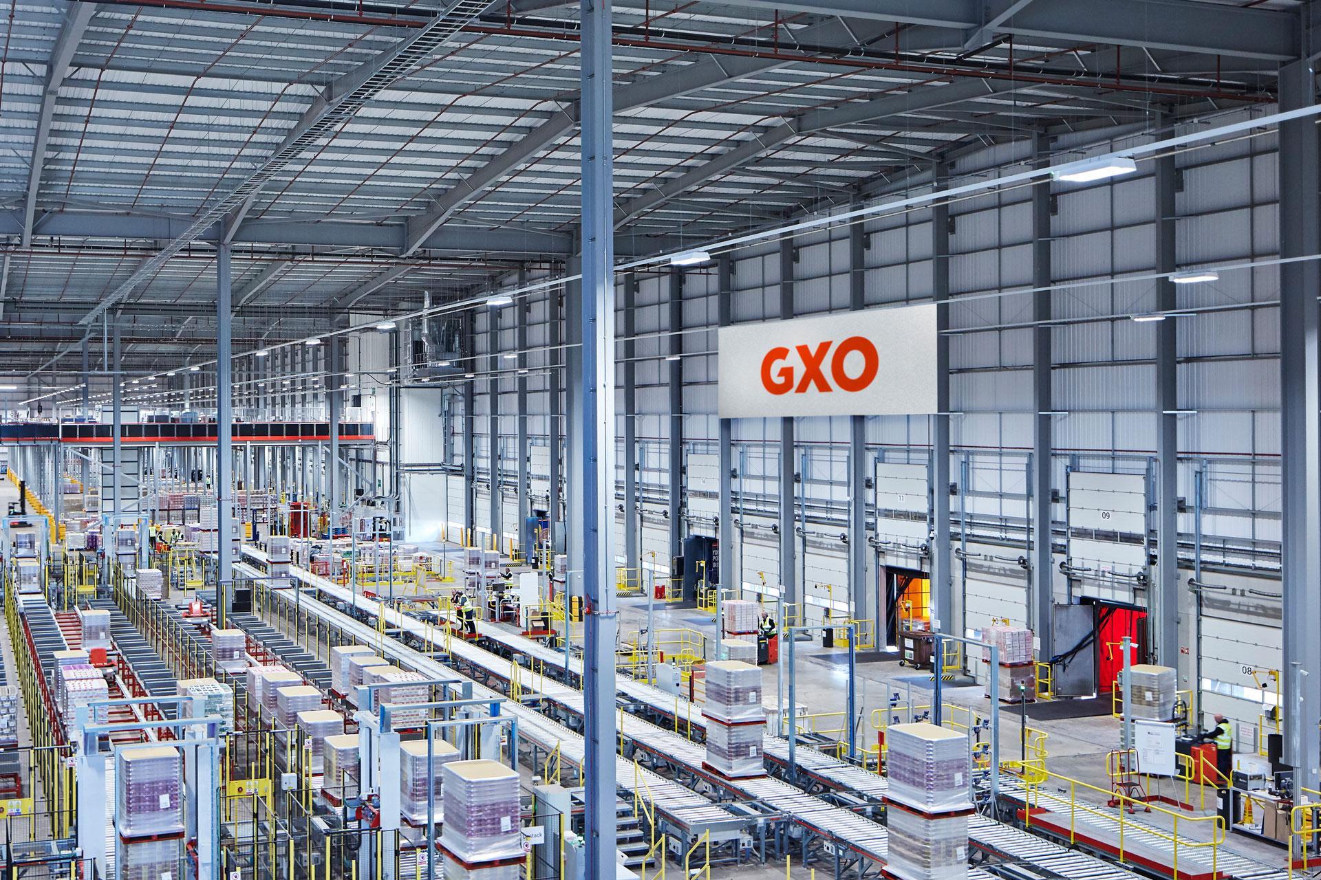 GXO, a pure-play contract logistics company