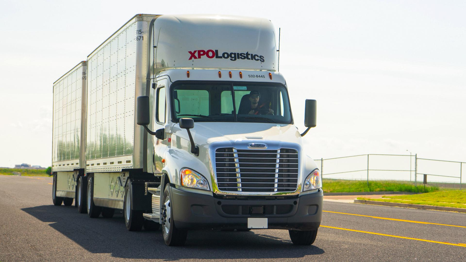 XPO Less-Than-Truckload truck