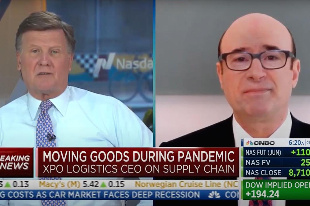 XPO Brad Jacobs on CNBC