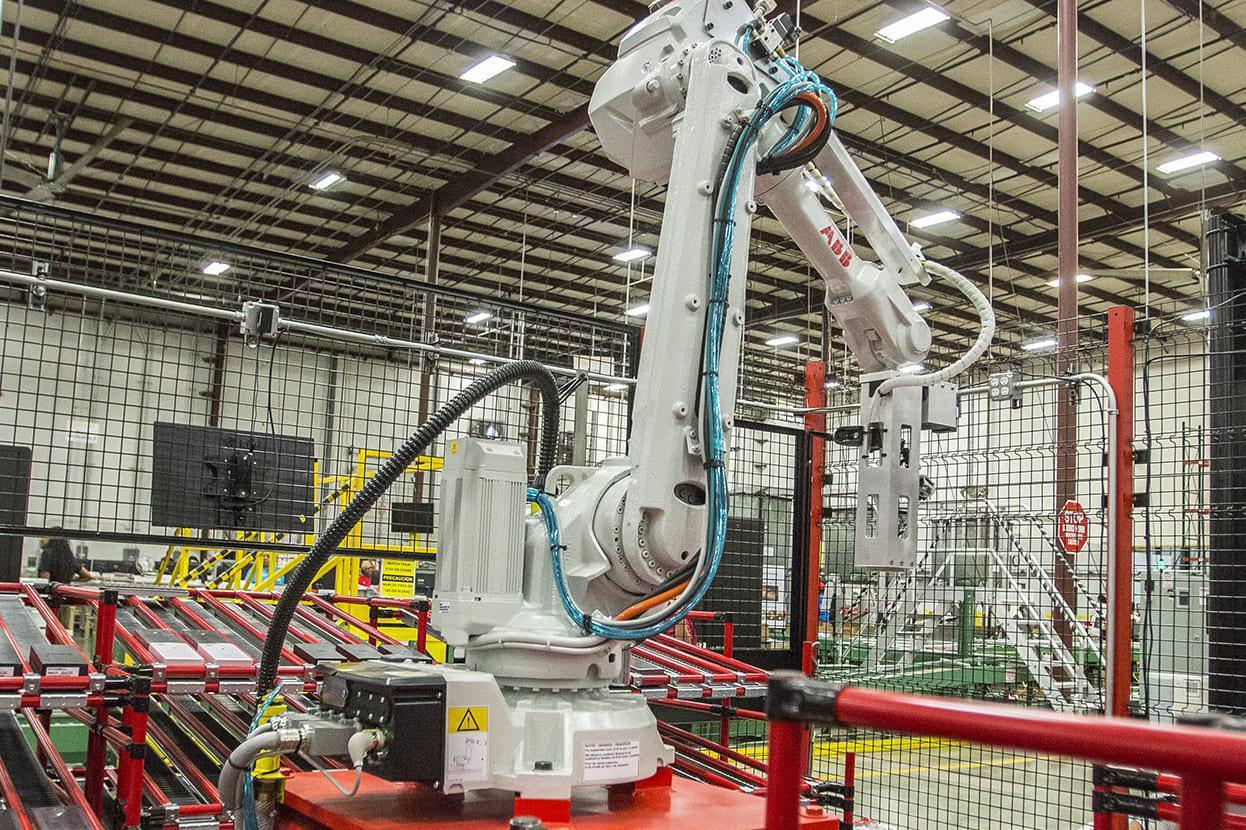 XPO robot arm