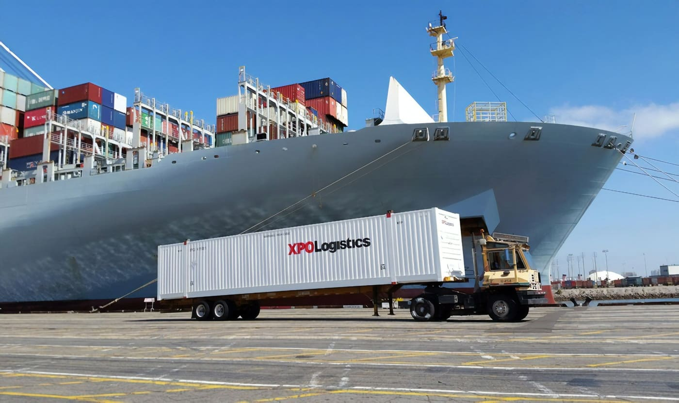 XPO Drayage Container