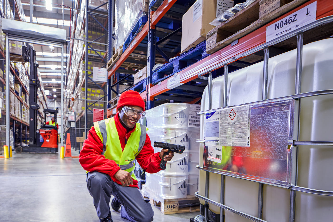 XPO Employee Scanning