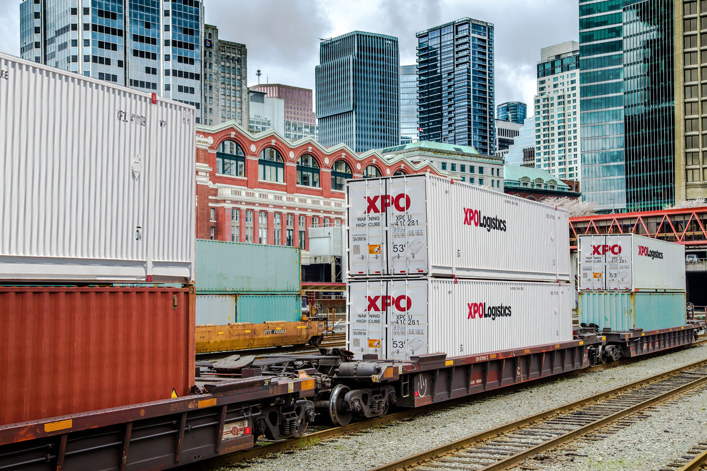 XPO Intermodal Containers
