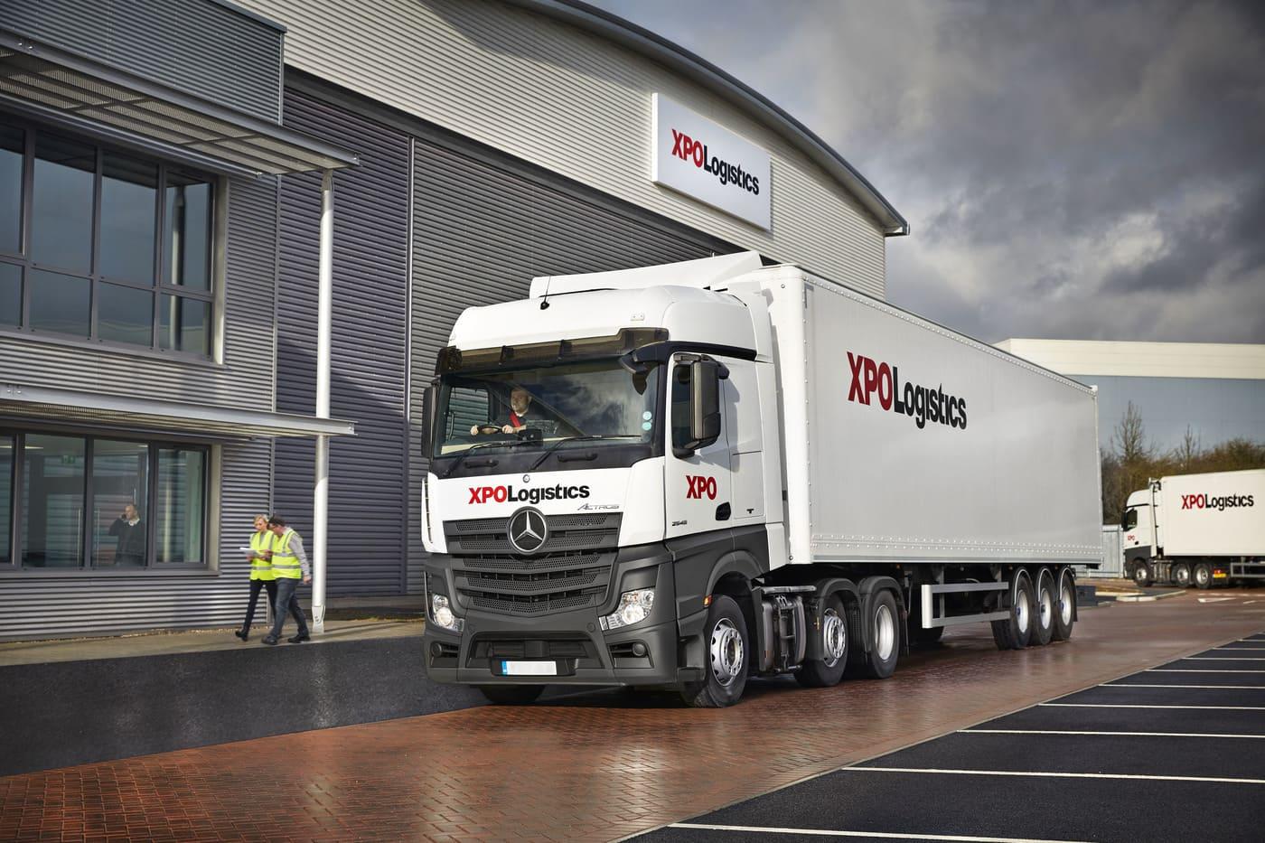 XPO UK Truck
