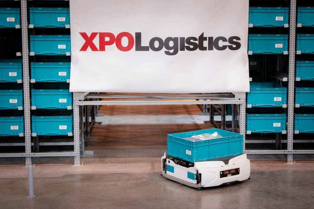 XPO Exotec Robots