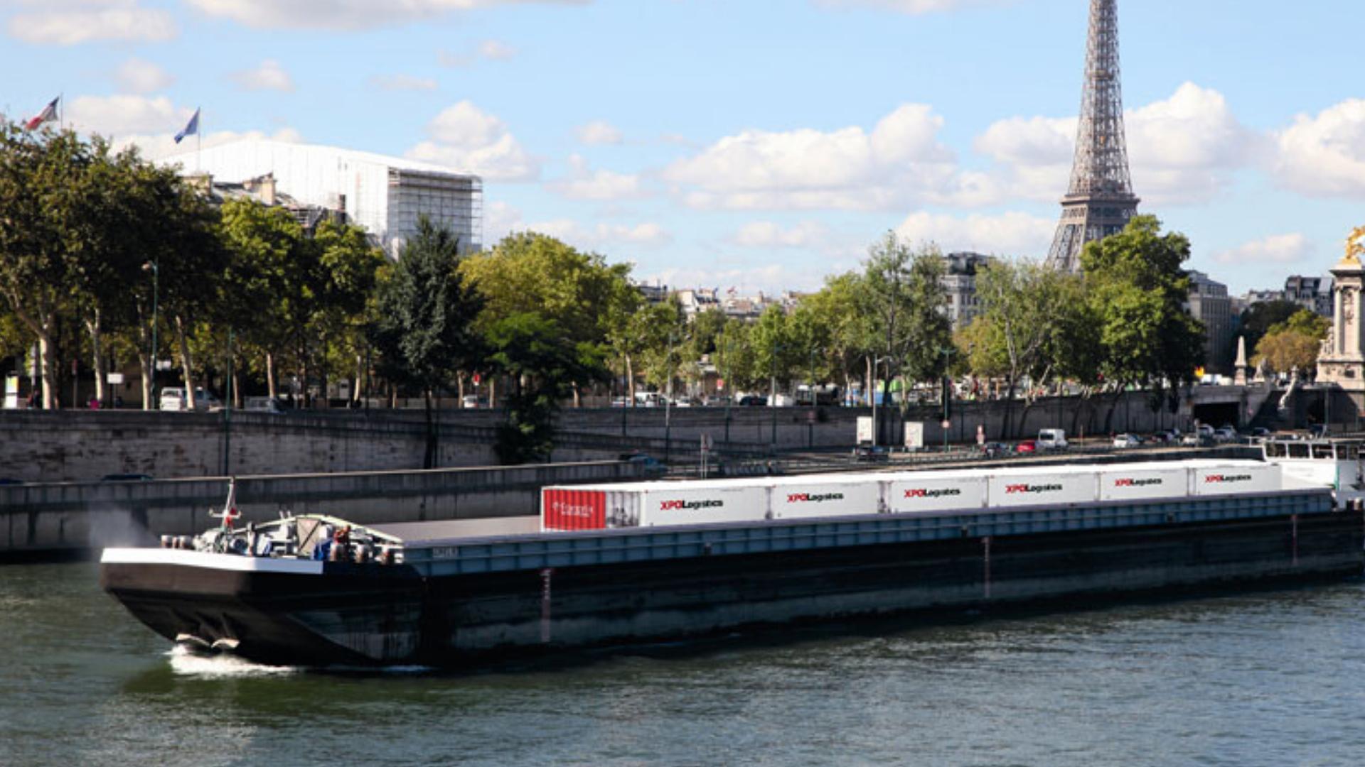 Multimodal river transport