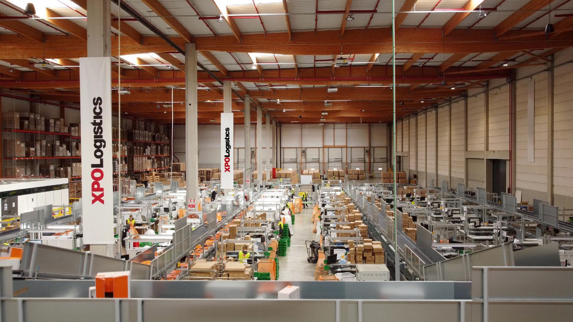 Automated line XPO warehouse