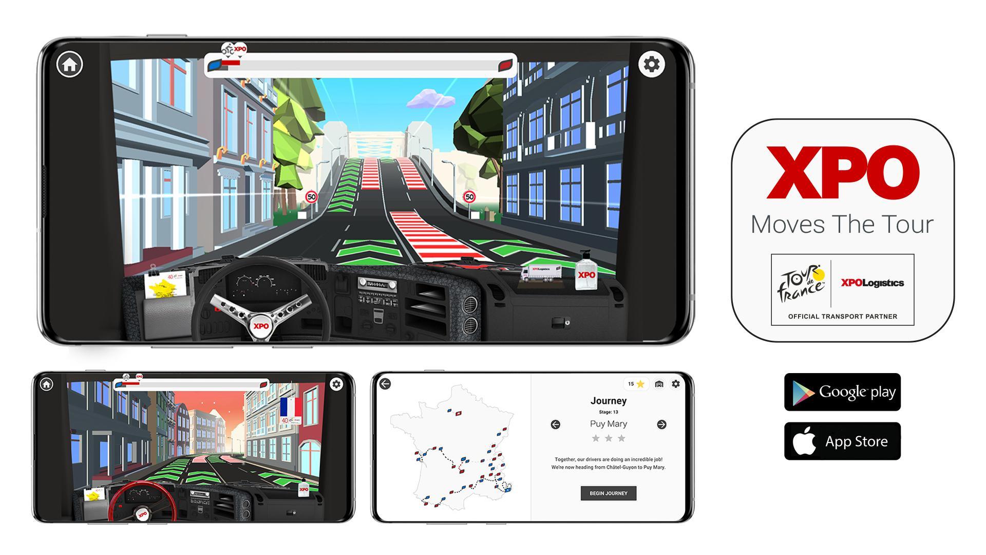 XPO Moves the Tour : Mobile Game