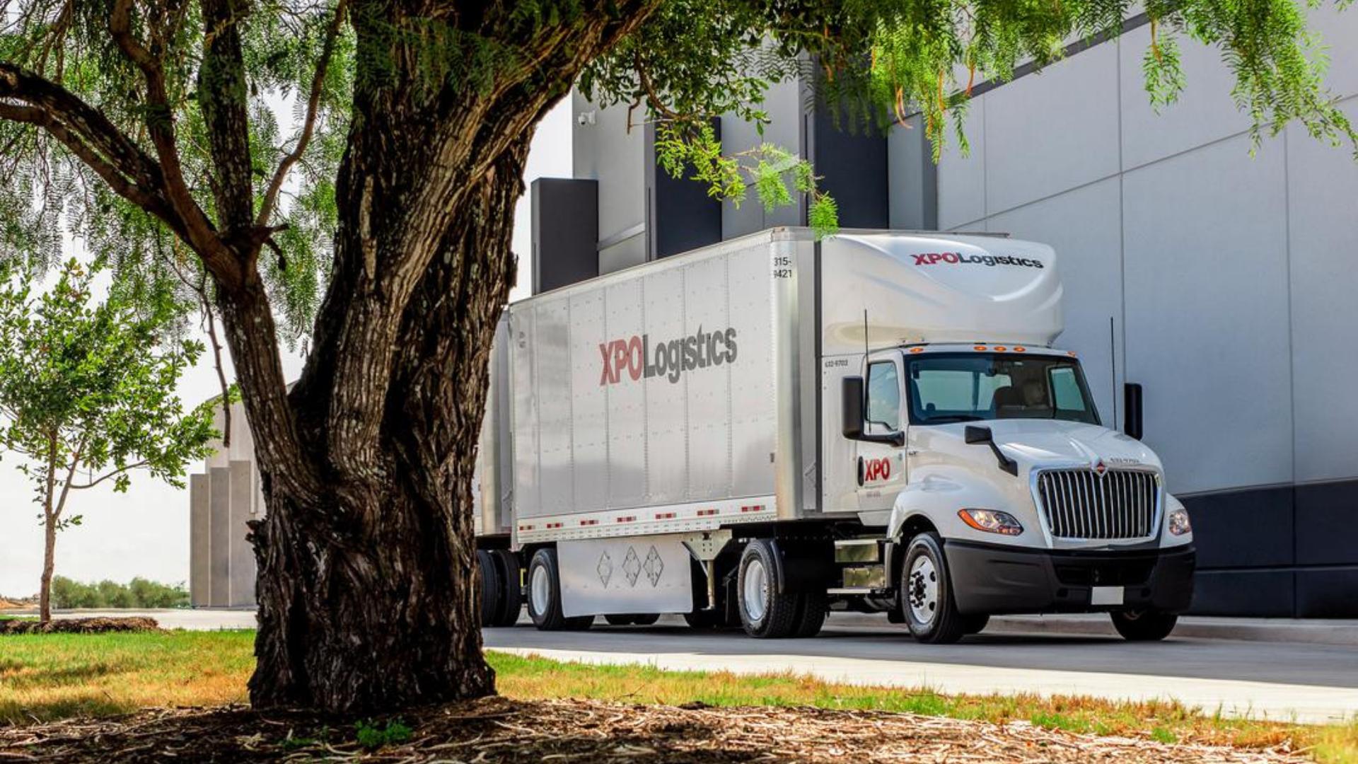 XPO US truck