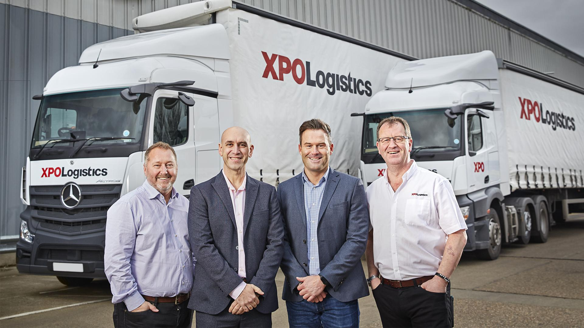 XPO Logistics and Mercedes-Benz partnership