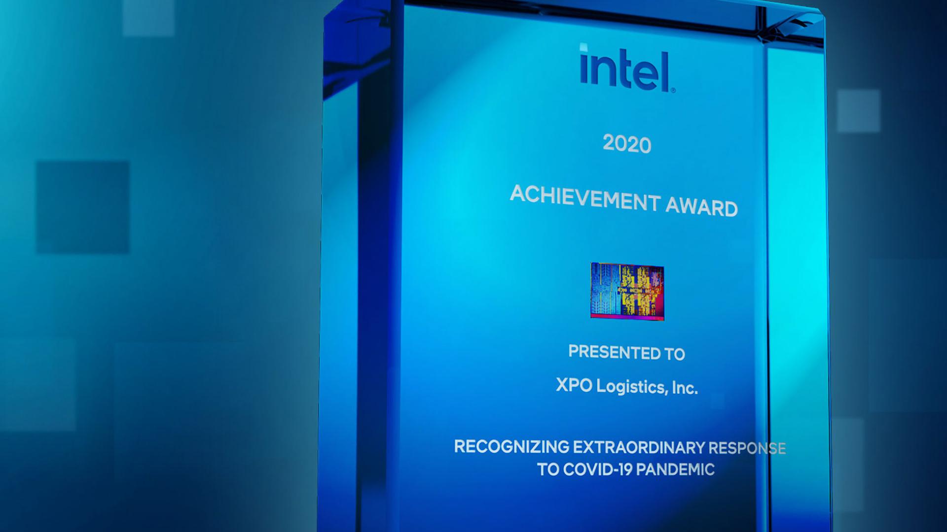 XPO receives Intel Award