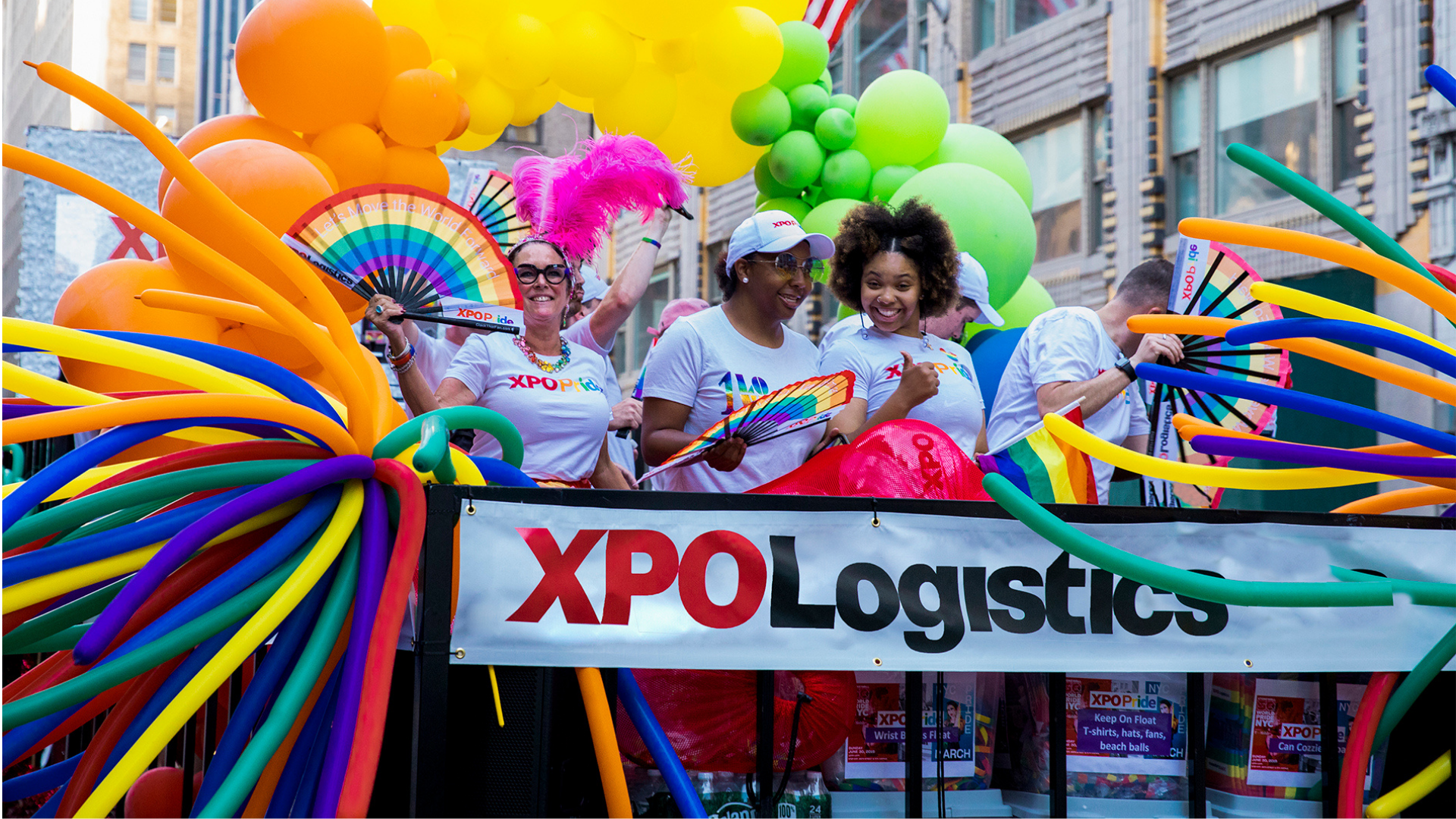 LGBTQ+ parade in New York