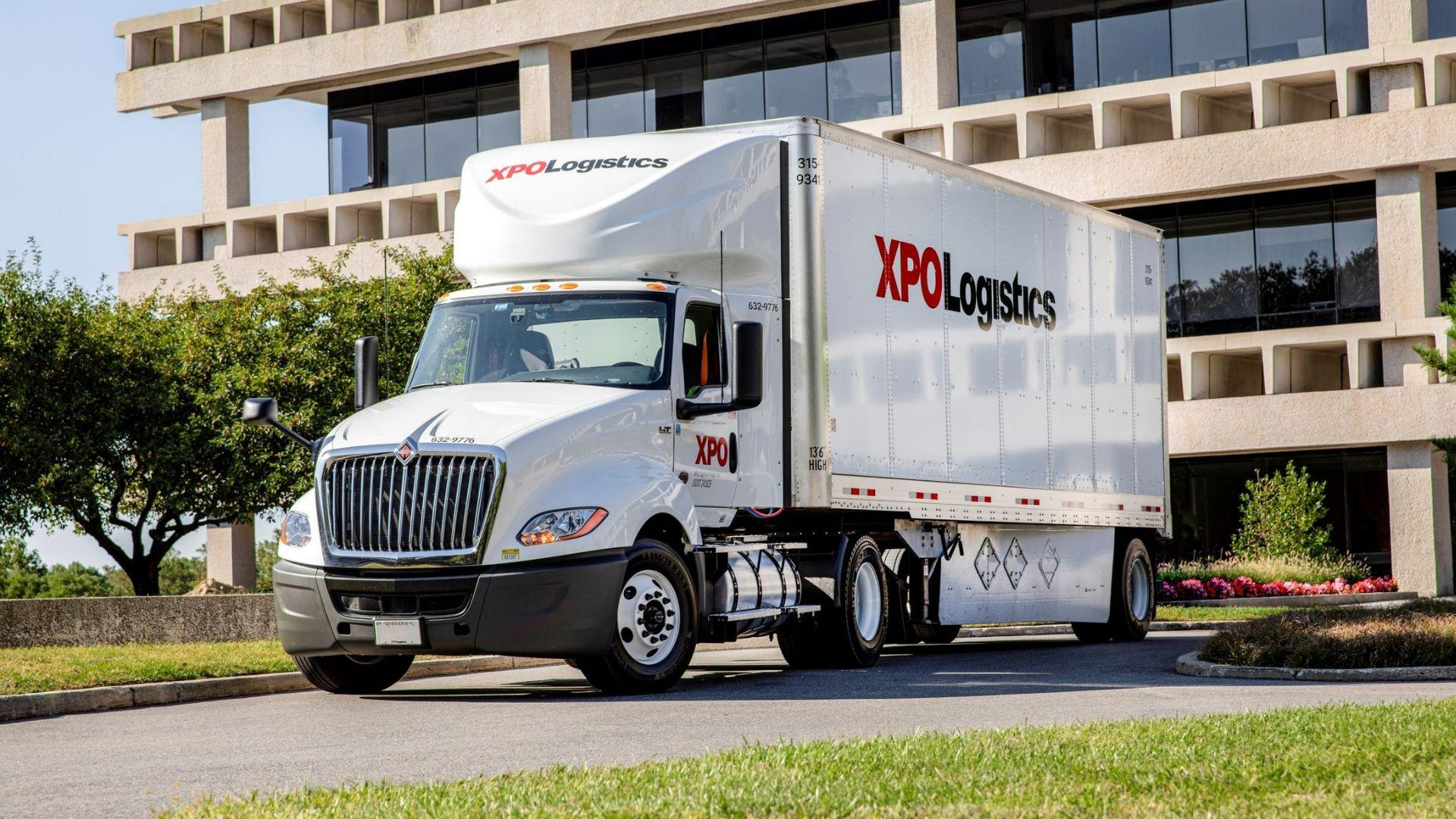 XPO Logistics American truck