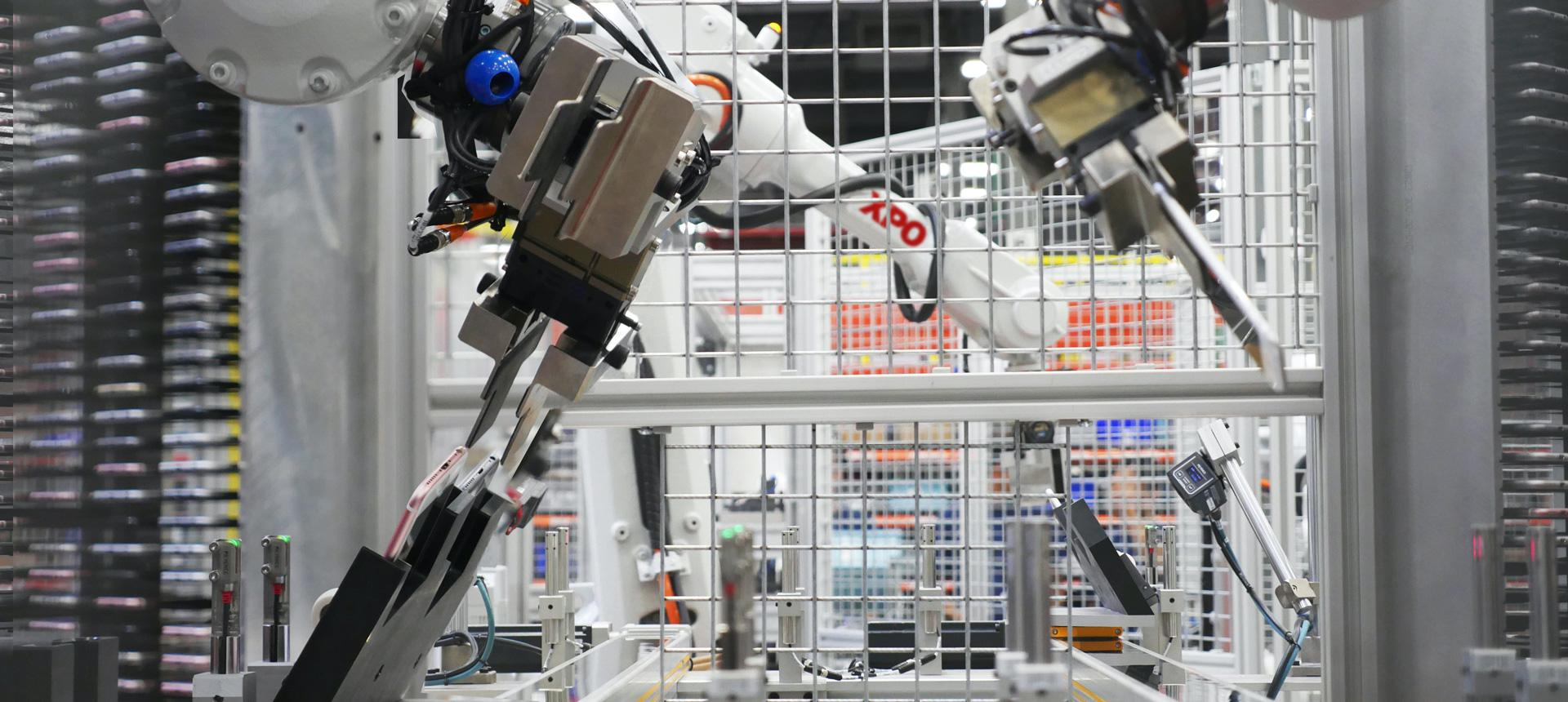 Robotic arm at XPO facility