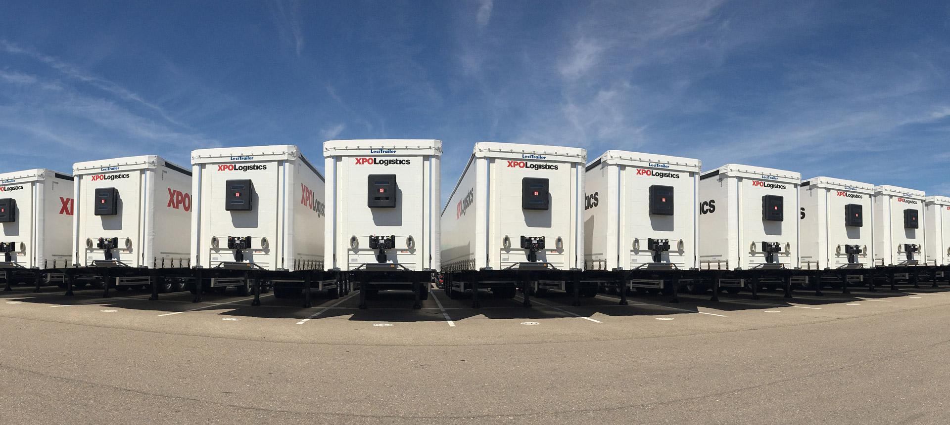 XPO trailers