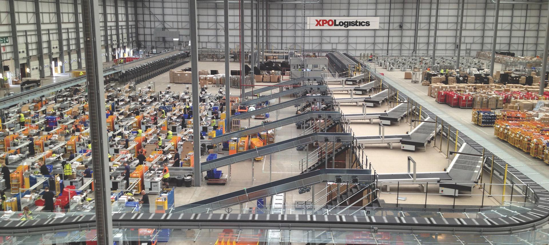 XPO's warehouse